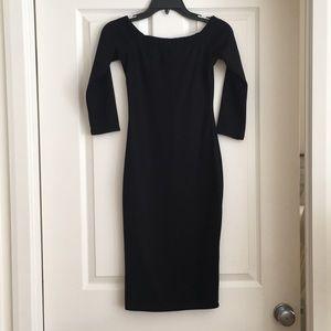 Little black dress- off the shoulder